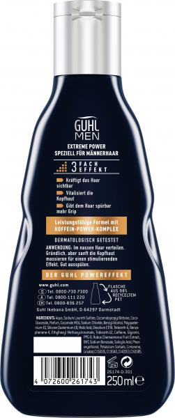 Guhl Men Shampoo Extrem Power