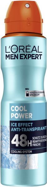 L'Oréal Men Expert Cool Power Ice Effect Anti-Transpirant