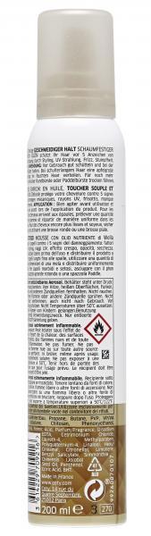 Wella Deluxe Schaumfestiger mit kostbaren Ölen Geschmeidiger Halt 4
