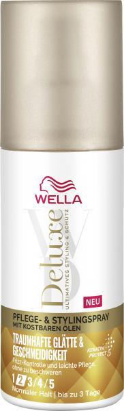 Wella Deluxe Pflege & Stylingspray Traumhafte Glätte & Geschmeidigkeit Normaler Halt 2