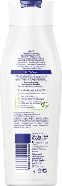 Nivea Shampoo Sensitiv Ultra Mild Pro Vitamin B5