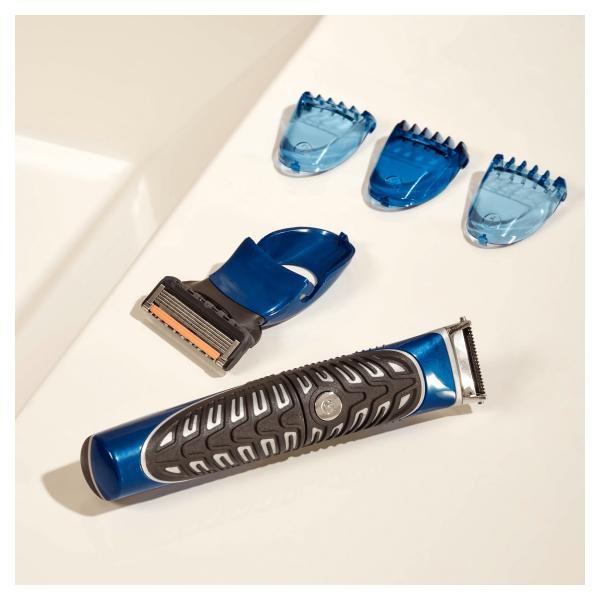Gillette 4in1 Präzisions-Styler, Körper- und Barttrimmer, Rasierer und Definierer