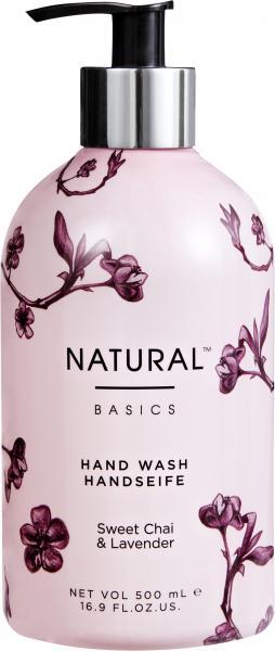 Natural Basics Handseife Sweet Chai & Lavender