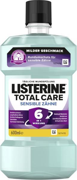 Listerine Mundspülung Total Care Sensible Zähne