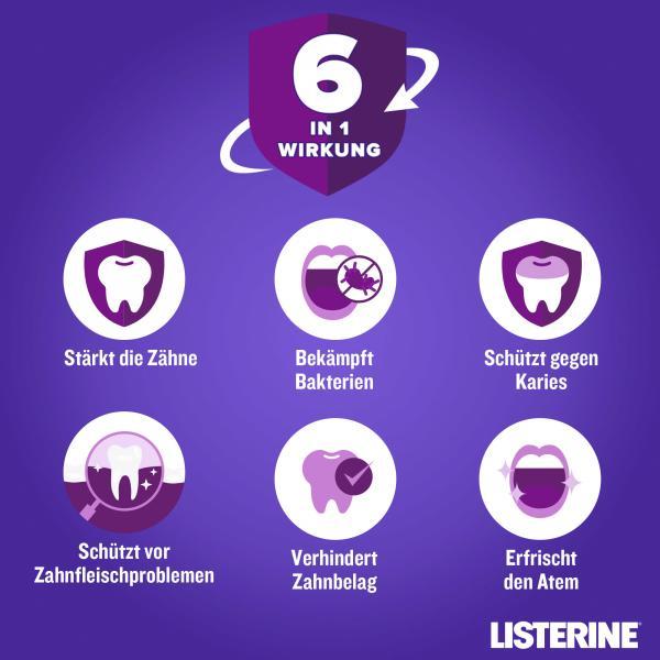 Listerine Mundspülung Total Care Zahn-Schutz