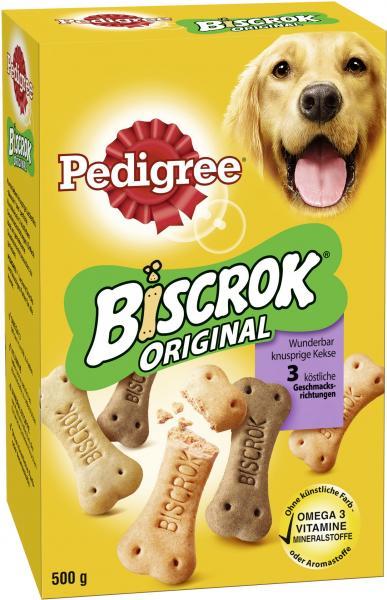 Pedigree Biscrok Original knusprige Kekse