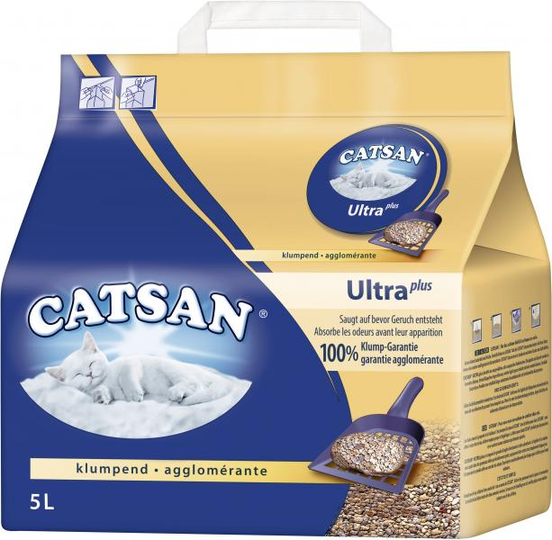 Catsan Katzenstreu ultra plus