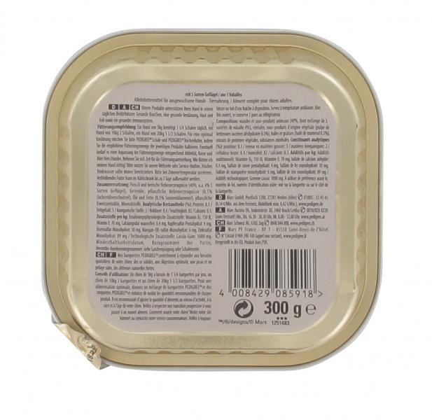 Pedigree mit 5 Sorten Geflügel in Gelee