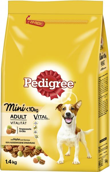 Pedigree Adult Vital mit Huhn mini