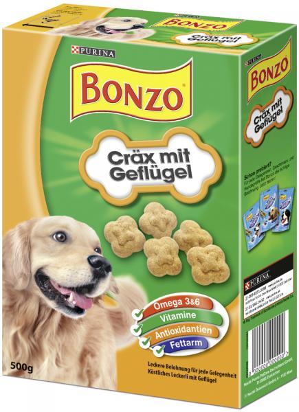 Bonzo Cräx mit Geflügel