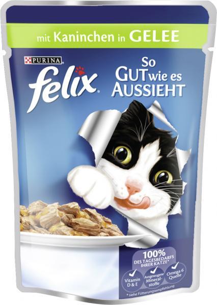 Felix So gut wie es aussieht mit Kaninchen in Gelee
