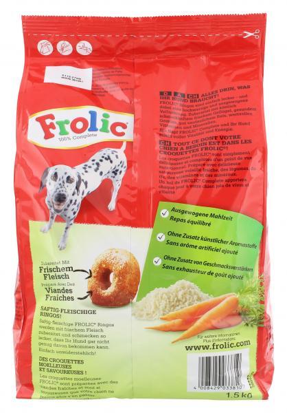 Frolic mit Geflügel, Gemüse & Reis