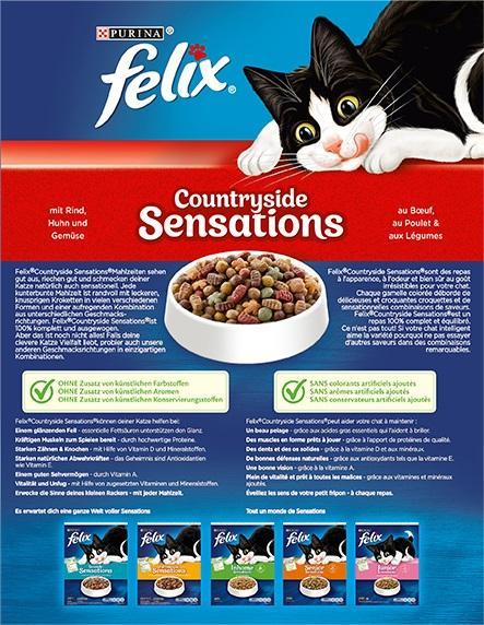Felix Countryside Sensations mit Rind, Huhn und Gemüse