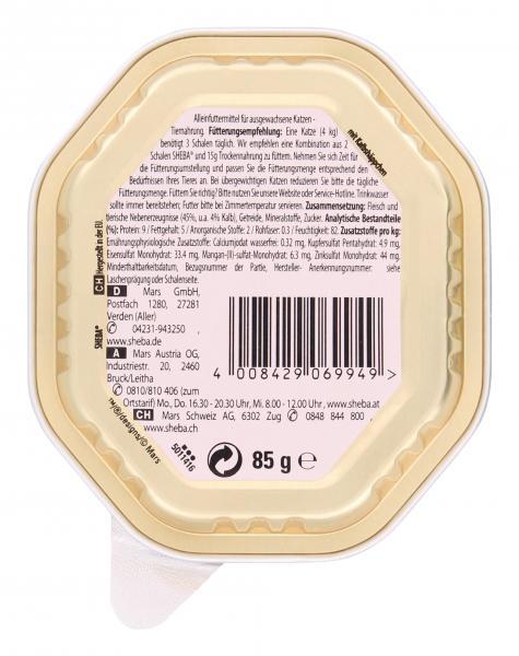 Sheba Selection in Sauce mit Kalbshäppchen