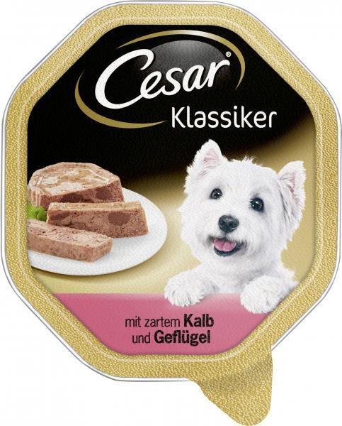 Cesar Klassiker mit Kalb & Geflügel