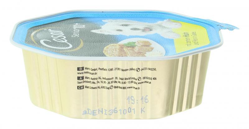 Cesar Vital 10+ mit Huhn & Reis