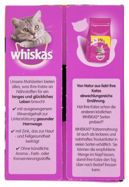 Whiskas 1+ Fleisch Auswahl in Sauce