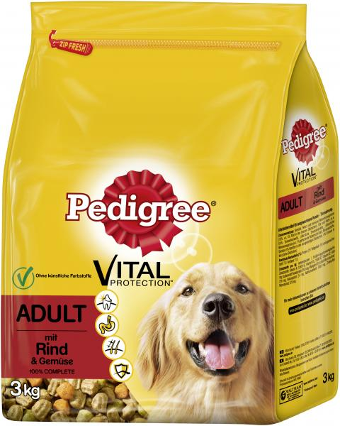 Pedigree Adult Vital Protection mit Rind und Gemüse