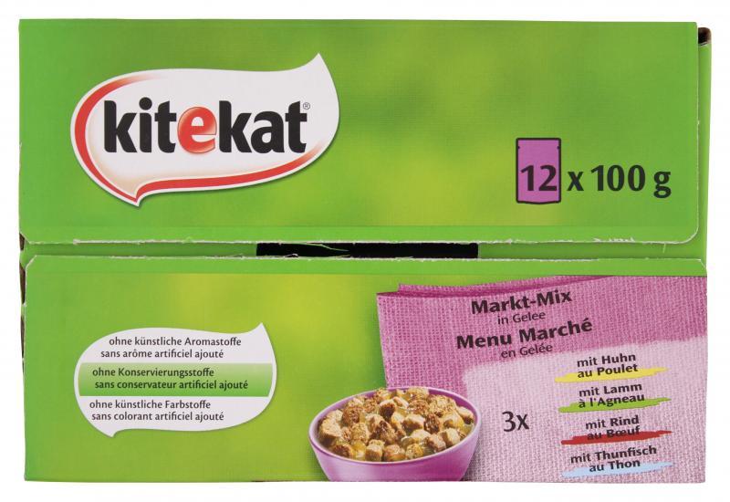 Kitekat Markt-Mix in Gelee