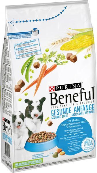 Beneful Gesunde Anfänge mit Huhn, Gartengemüse und Vitaminen
