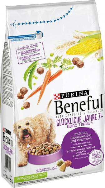 Beneful Glückliche Jahre 7+ mit Huhn, Gartengemüse und Vitaminen