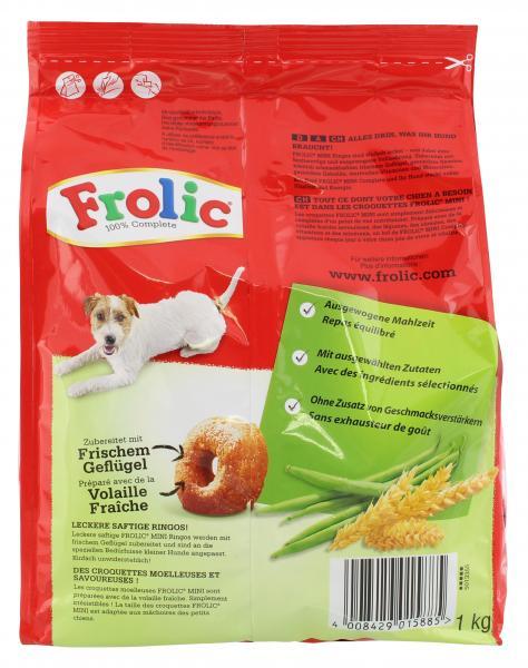 Frolic Mini mit Geflügel, Gemüse & Getreide