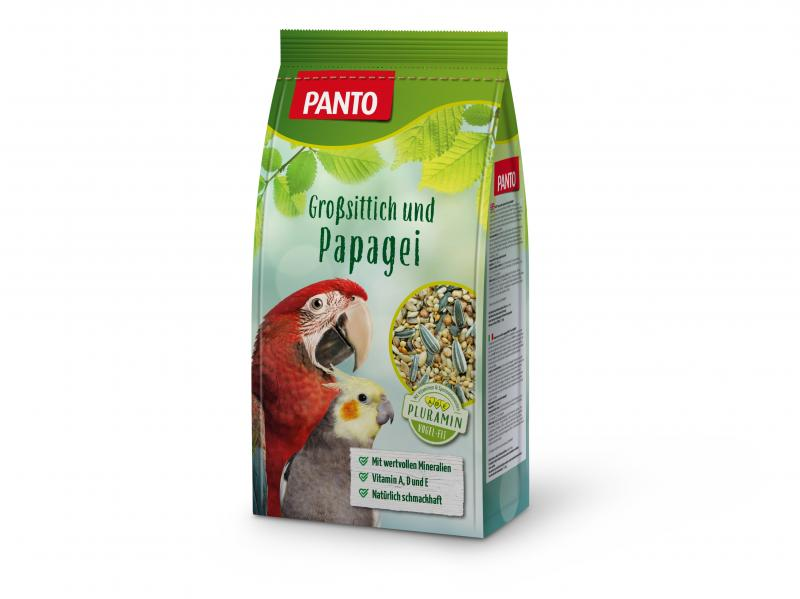 Panto Großsittich-/Papageifutter
