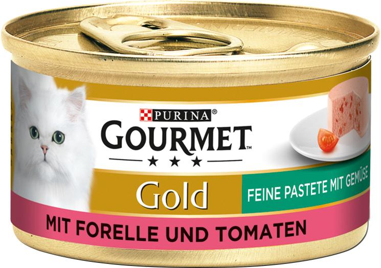 Gourmet Gold mit Forelle & Tomaten