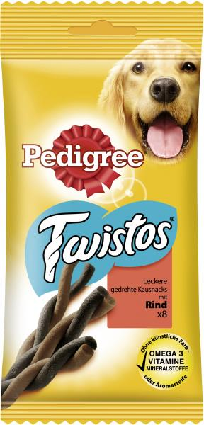 Pedigree Twistos mit Rind