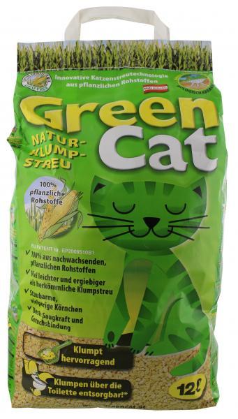 Agros GreenCat Katzen Naturklumpstreu