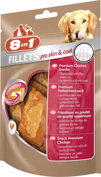 8in1 Fillets Pro Skin & Coat Premium Hähnchenfilet S