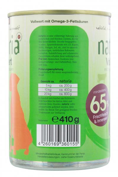 Naturia Vollwert mit Omega 3 Fettsäuren
