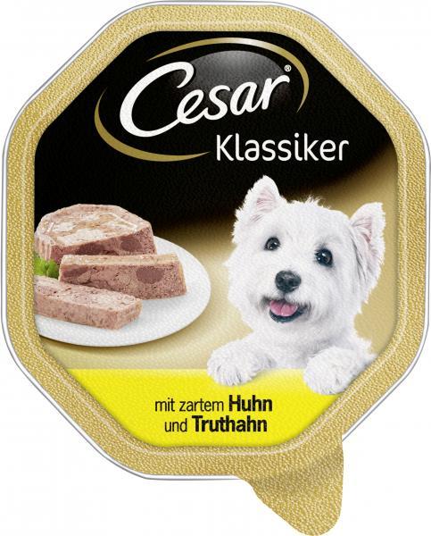 Cesar Klassiker mit zartem Huhn und Truthahn