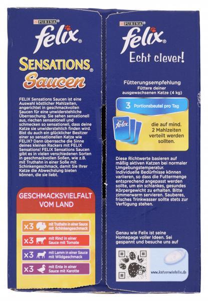 Felix Sensations Saucen Geschmacksvielfalt vom Land