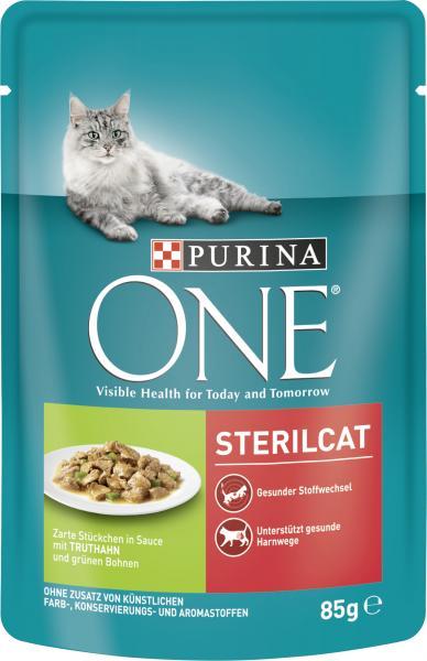 Purina One Sterilcat Truthahn & grüne Bohnen