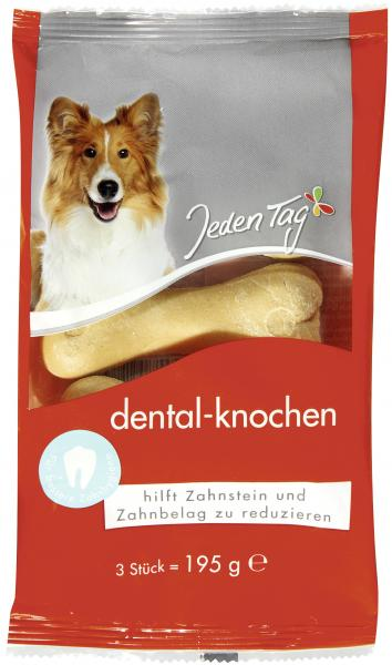 Jeden Tag Hund Dental-Knochen