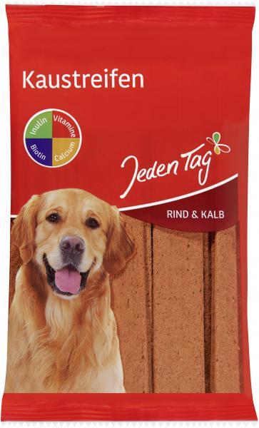 Jeden Tag Hund Kaustreifen mit Rind & Kalb