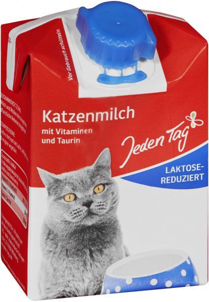 Jeden Tag Katzenmilch laktosereduziert