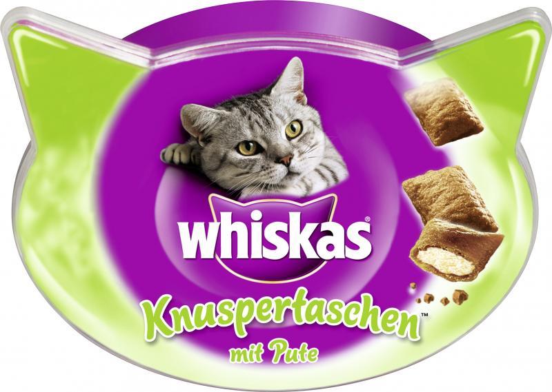 Whiskas Knuspertaschen mit Pute