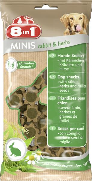 8in1 Minis Rabbit & Herbs MHD 08.09.18