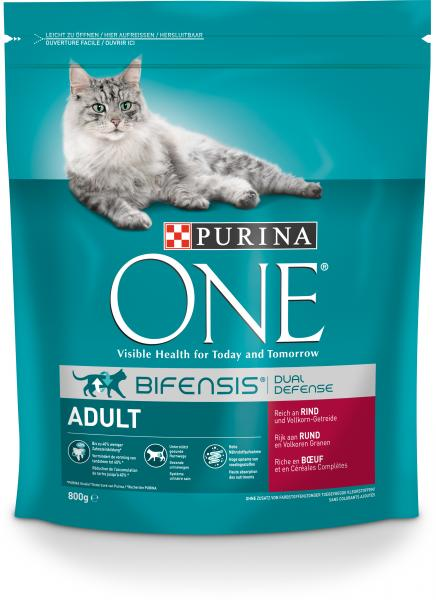 Purina One Bifensis Adult Reich an Rind