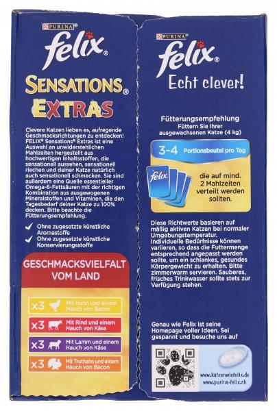Felix Sensations Extras Geschmackvielfalt vom Land