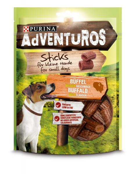 Adventuros Mini Sticks mit Büffelgeschmack