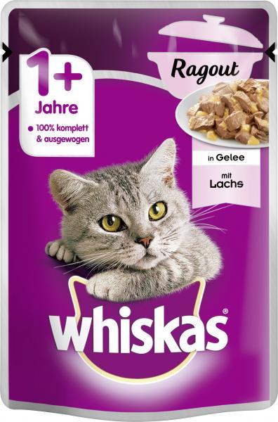 Whiskas 1+ Ragout mit Lachs