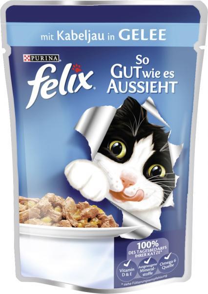 Felix So gut wie es aussieht mit Kabeljau in Gelee