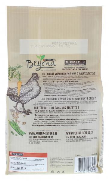 Beyond Simply 9 Trockenfutter mit Huhn