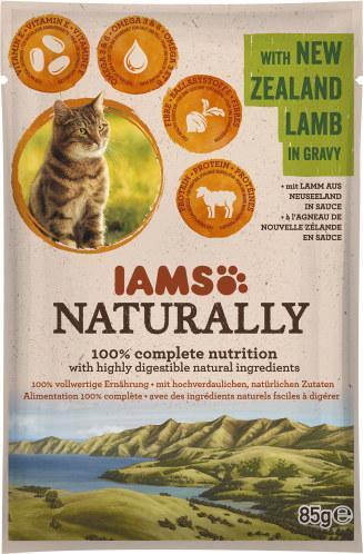 Iams Naturally Cat mit Lamm in Sauce