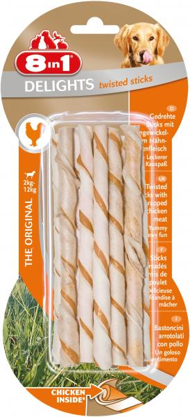 8in1 Delights Twisted Sticks Huhn