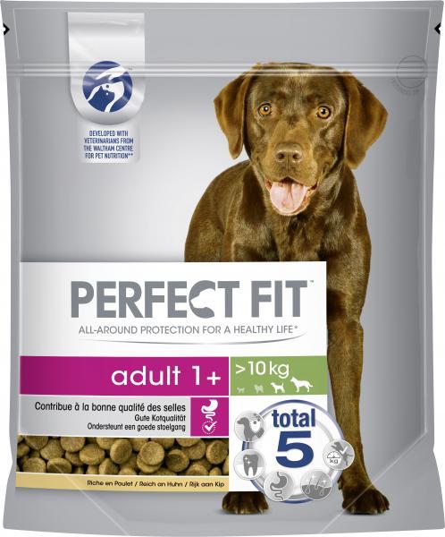 Perfect Fit Hund Adult 1+ M/L reich an Huhn