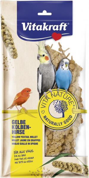Vitakraft Vita Nature Vögel Gelbe Kolben-Hirse
